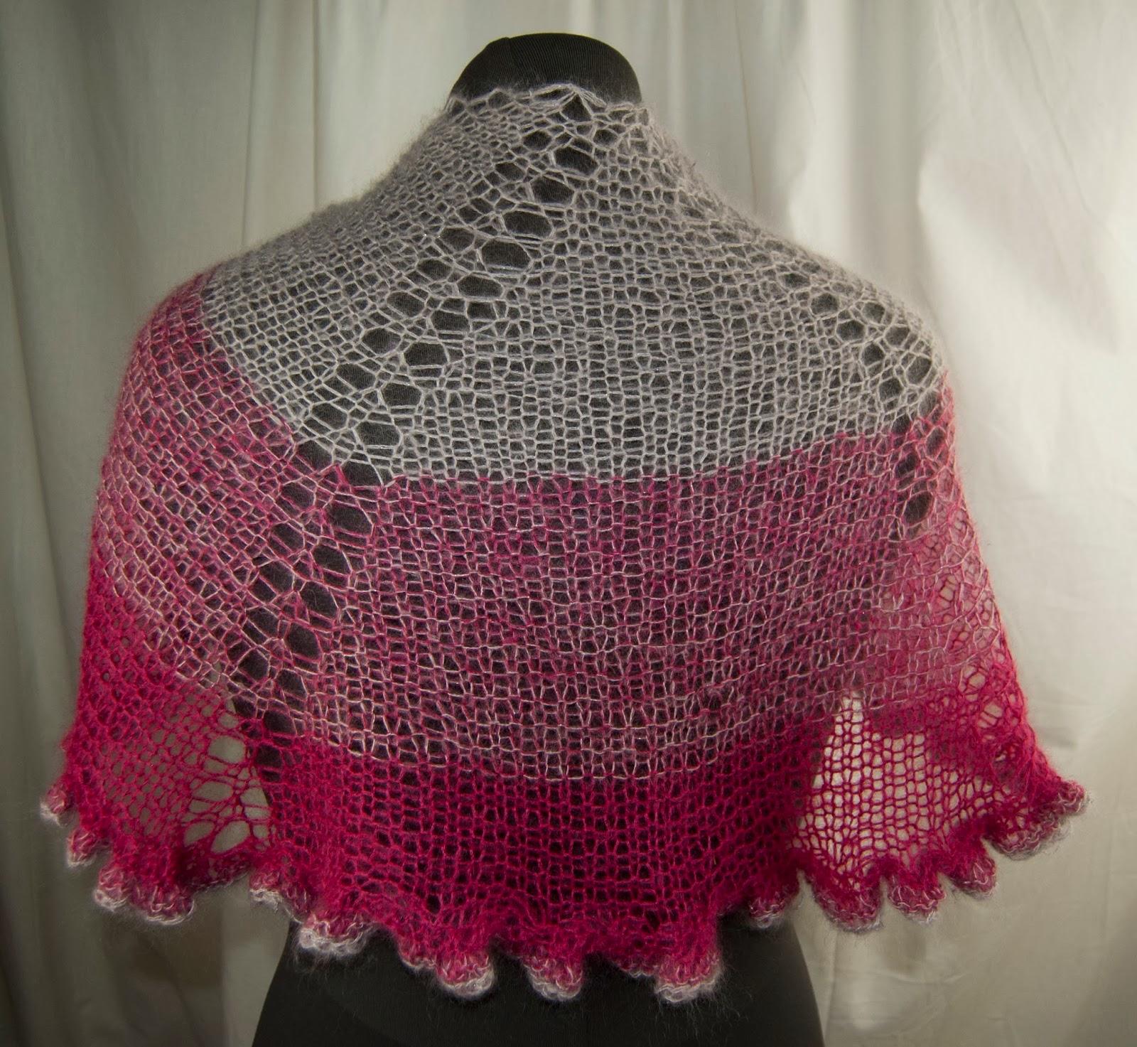 Abbreviation Kfb In Knitting : Cascade yarns gradient sparkle shawl knit in kid