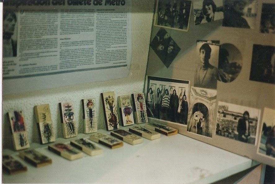 Cajas de cerillas para Amarneciendo
