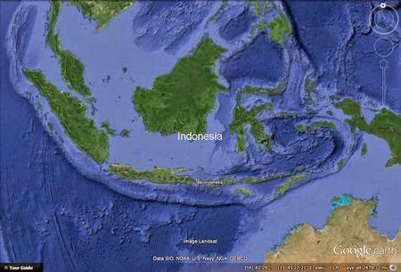 Where is Bali?, Map of Bali