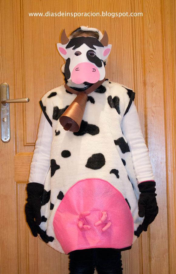 Días de Inspiración: Disfraz casero de vaca: Mi primera ...