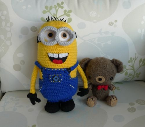 Crochet Pattern Minion : Serendipity: Despicable Me - Make your own Minion