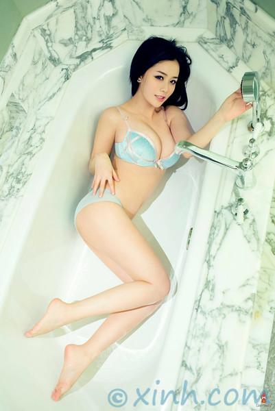 Ảnh gái đẹp HD nghệ thuật sexy của Yu Giai Ni 4