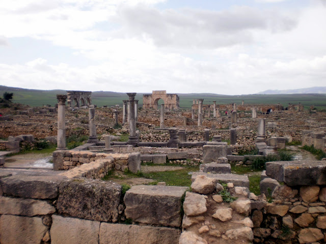 Ruinas romanas de Vollubilis