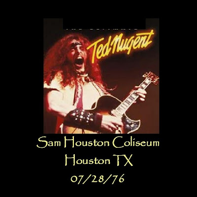 Ted Nugent - 1976-07-28 - Houston, TX (FLAC)