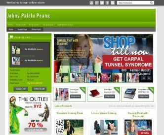 Template Blogspot Shop thời trang đẹp
