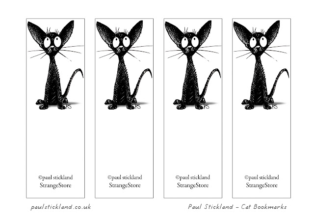 black cats, free bookmarks, free cat bookmarks, funny cats,