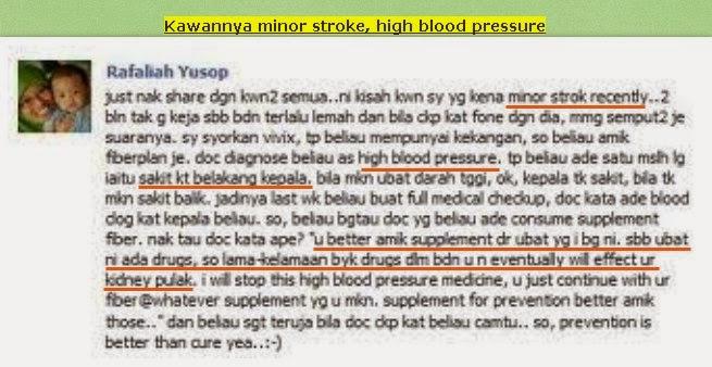 vivix penawar sakit strok