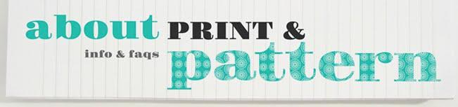 about print & pattern