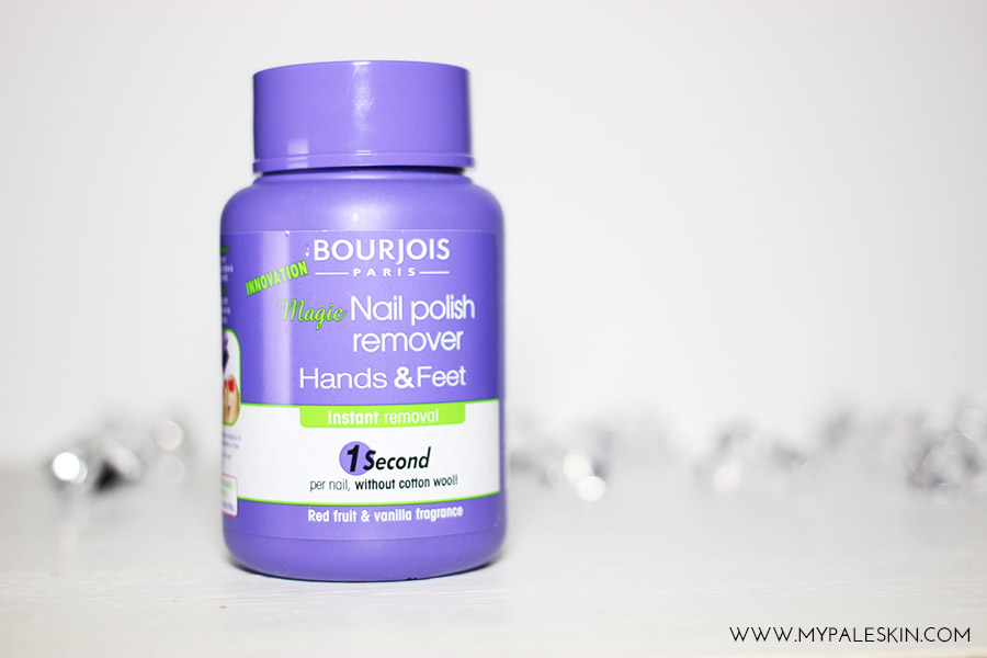 Bourjois Nail Polish Remover Hands and feet review my pale skin