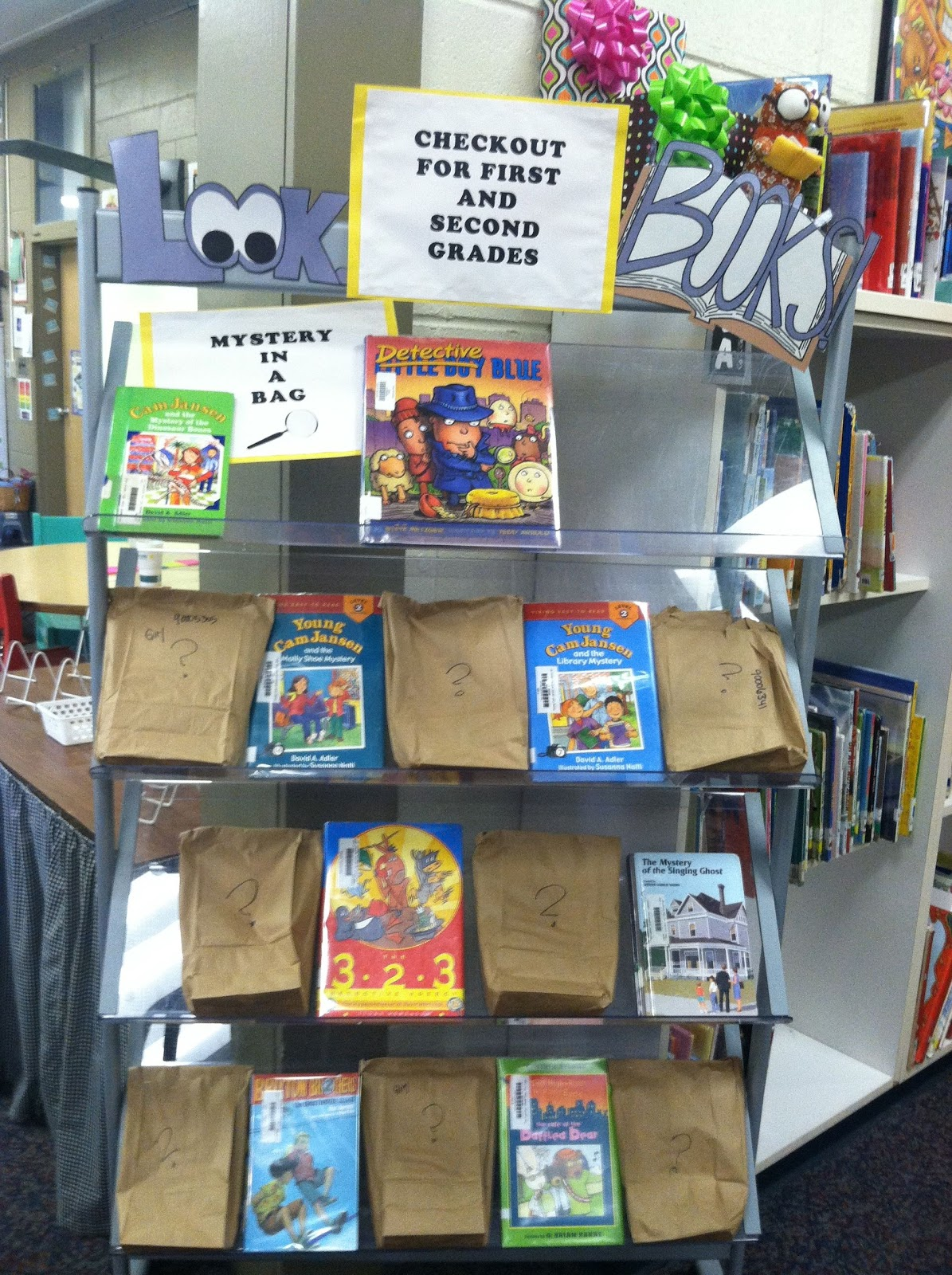 mystery bag book report Mystery bag report as an october reading project all students are required to create a mystery bag book report first, find a mystery book, get it approved by mr schoch, and then start reading.