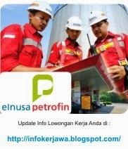 Lowongan Kerja Terbaru PT Elnusa Petrofin