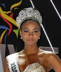 Leila Lopes of Angola