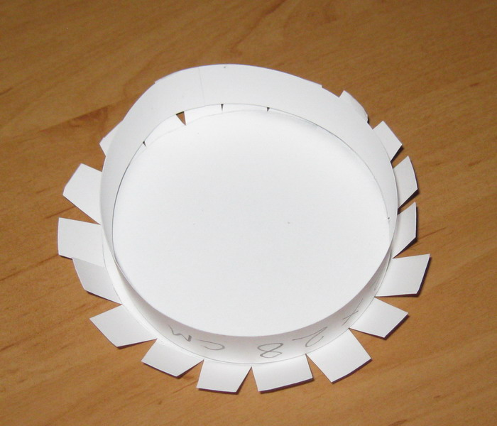 Как сделать из бумаги круглую крышку 392