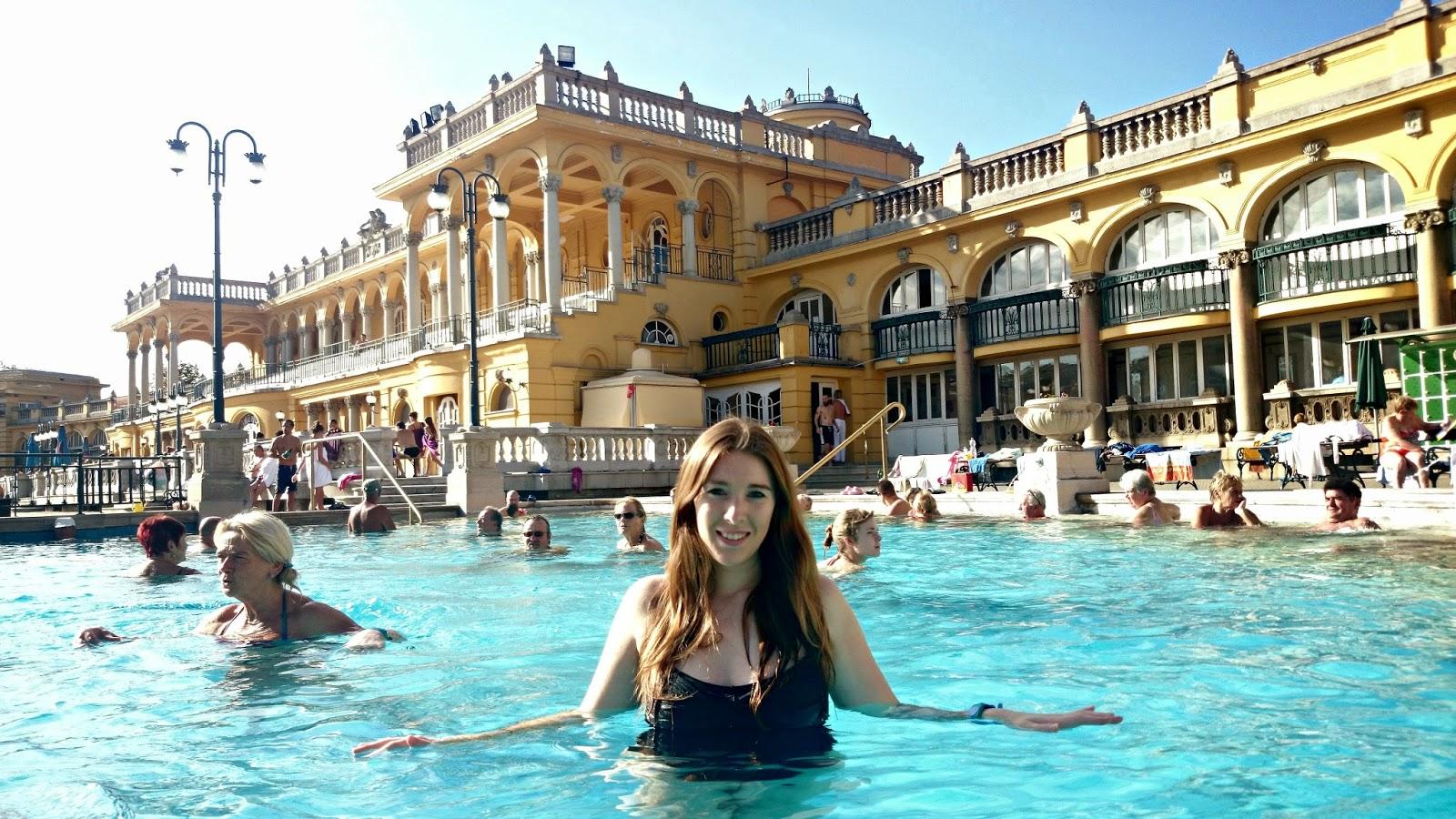 szechenyi thermal baths budapest hungary