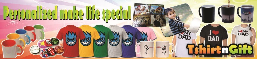 Tshirt printing mug printing in kl button badge heat for Custom t shirts no minimum order