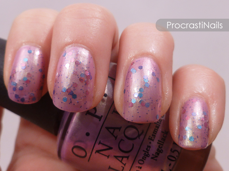Jelly Sandwiches with OPI and Maybelline! - ProcrastiNails