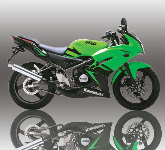 referensi ninja r hijau