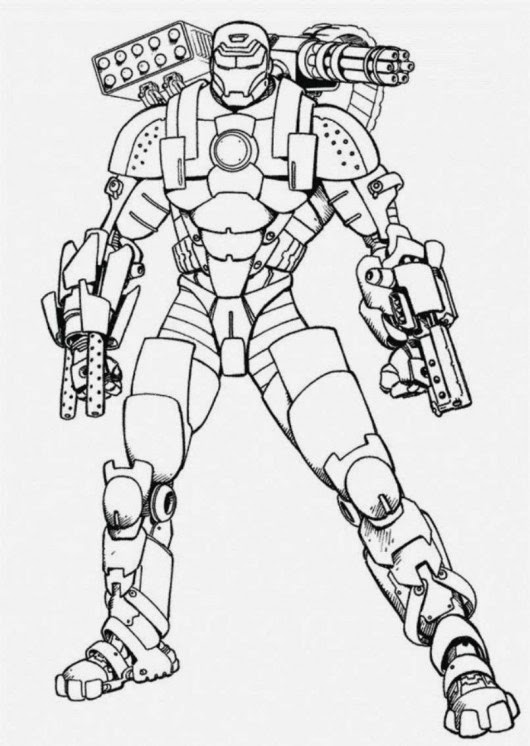 Avengers Coloring Pages Iron Man : Craftoholic ultimate avengers coloring pages