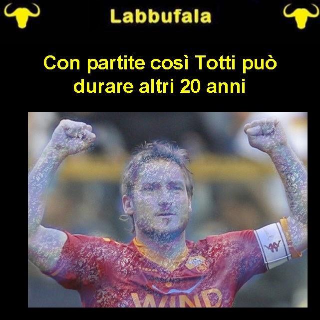 Totti, CSKA Roma, umorismo, sport