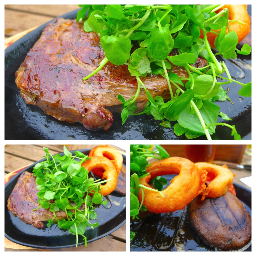Gizzi Erskine's BBQ Rib Eye Steak Recipes — Dishmaps