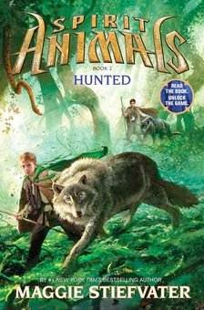 bookcover of HUNTED (Animal Spirits #2) by Maggie Stiefvater