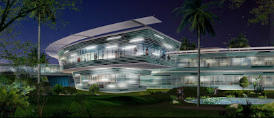 Luxury Modern Panoramic Hotel