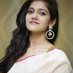 Simran Choudary Photos in Saree at Trisha Pre Launch Fashion Show