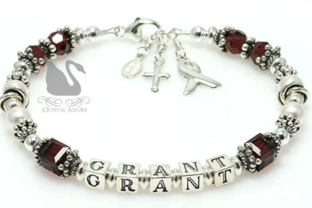 Elizabeth's Custom Mothers Hygroma Awareness Bracelet (B188-HYG)