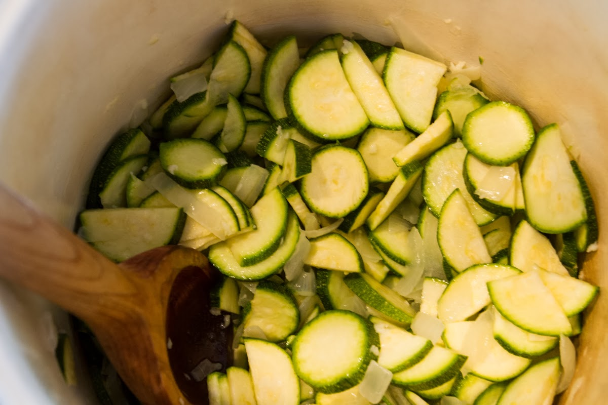 By~Lander~Sea Food Tales: Zucchini Garlic Soup