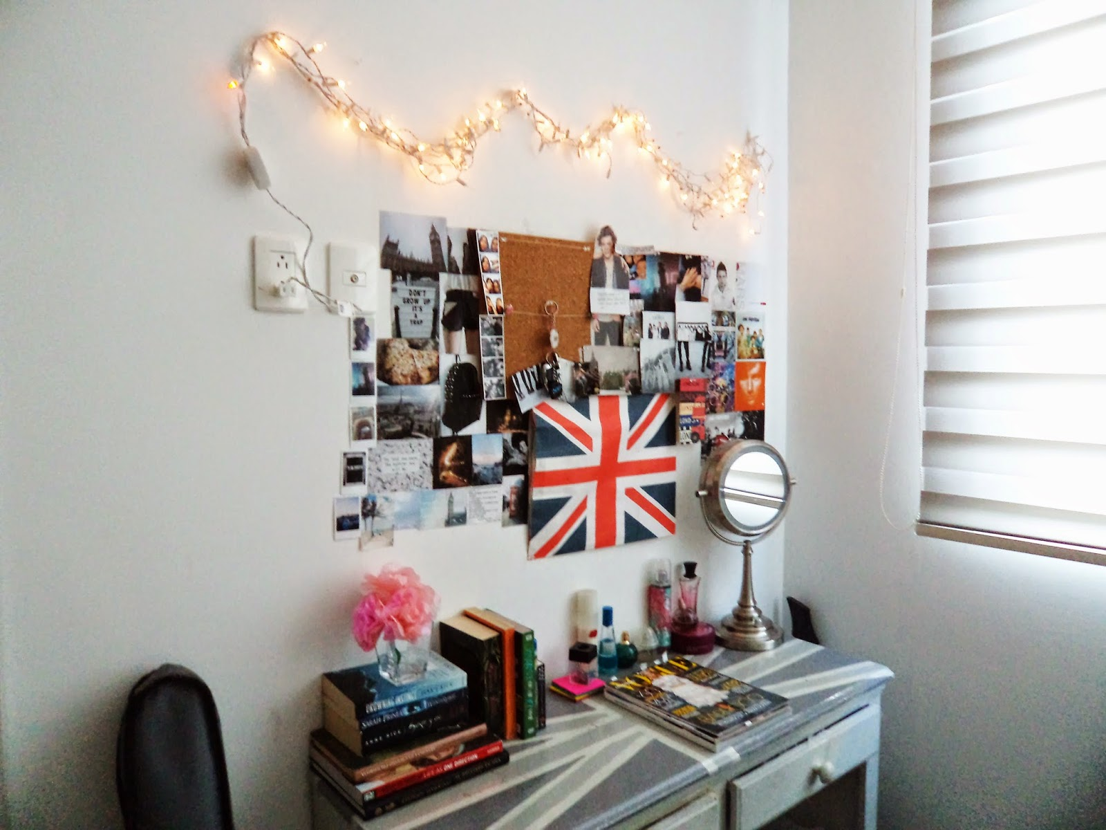Diy decora tu cuarto estilo tumblr f cil y sin gastar for Ideas para decorar habitaciones con fotos