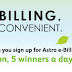 Astro E-billing Sign-up Win An iPad Contest
