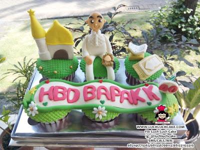 Cupcake Tema Islam Daerah Surabaya - Sidoarjo