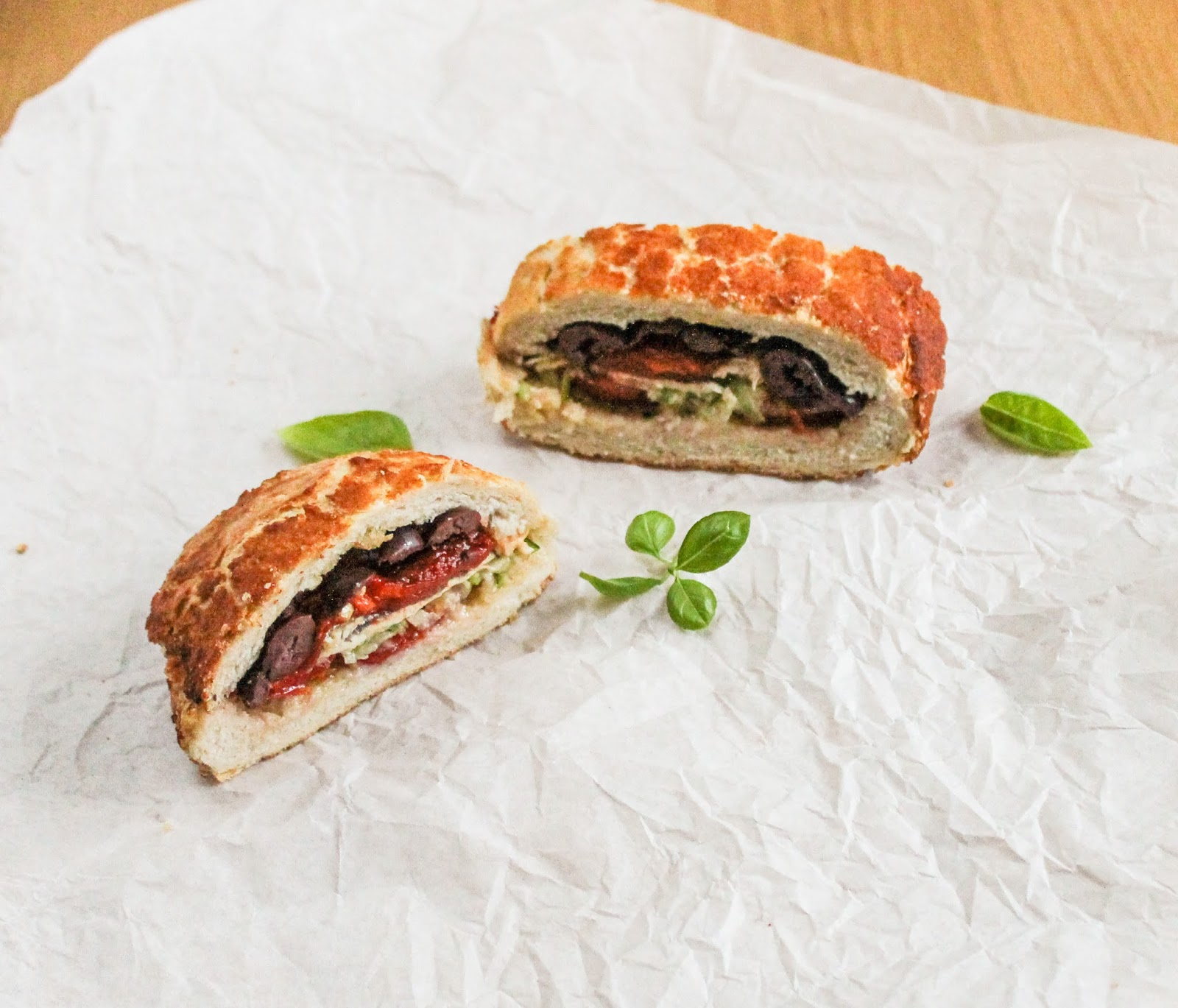 Provençal Pork Sandwich