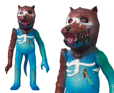 Medicom Project 1/6 Exclusive Earth Wolf Vinyl Figure by Josh Herbolsheimer