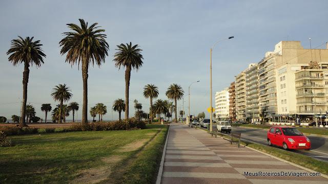 Rambla de Punta Carretas - Montevidéu, Uruguai
