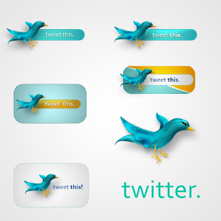 Twitter Icons  PSD by JuliusX PSD Icon Twitter part 1