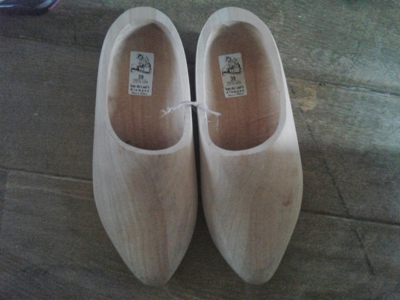 Sinterklaas kwam nog even langs om mijn nieuwe schoenen te brengen.