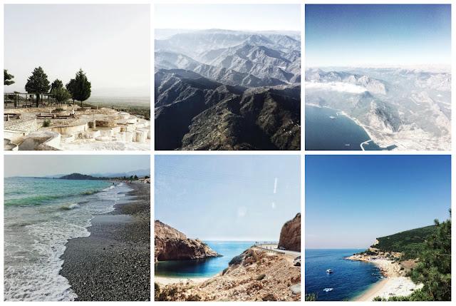 отдых в Турции красивый вид горы