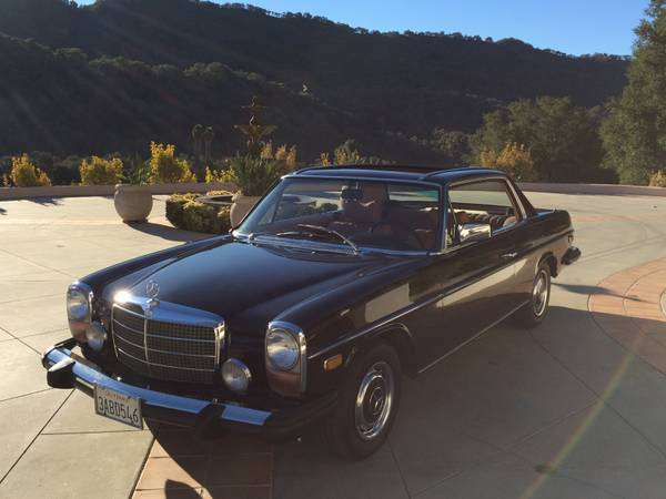 Rare classic 1975 mercedes benz 280 coupe auto for Rare mercedes benz