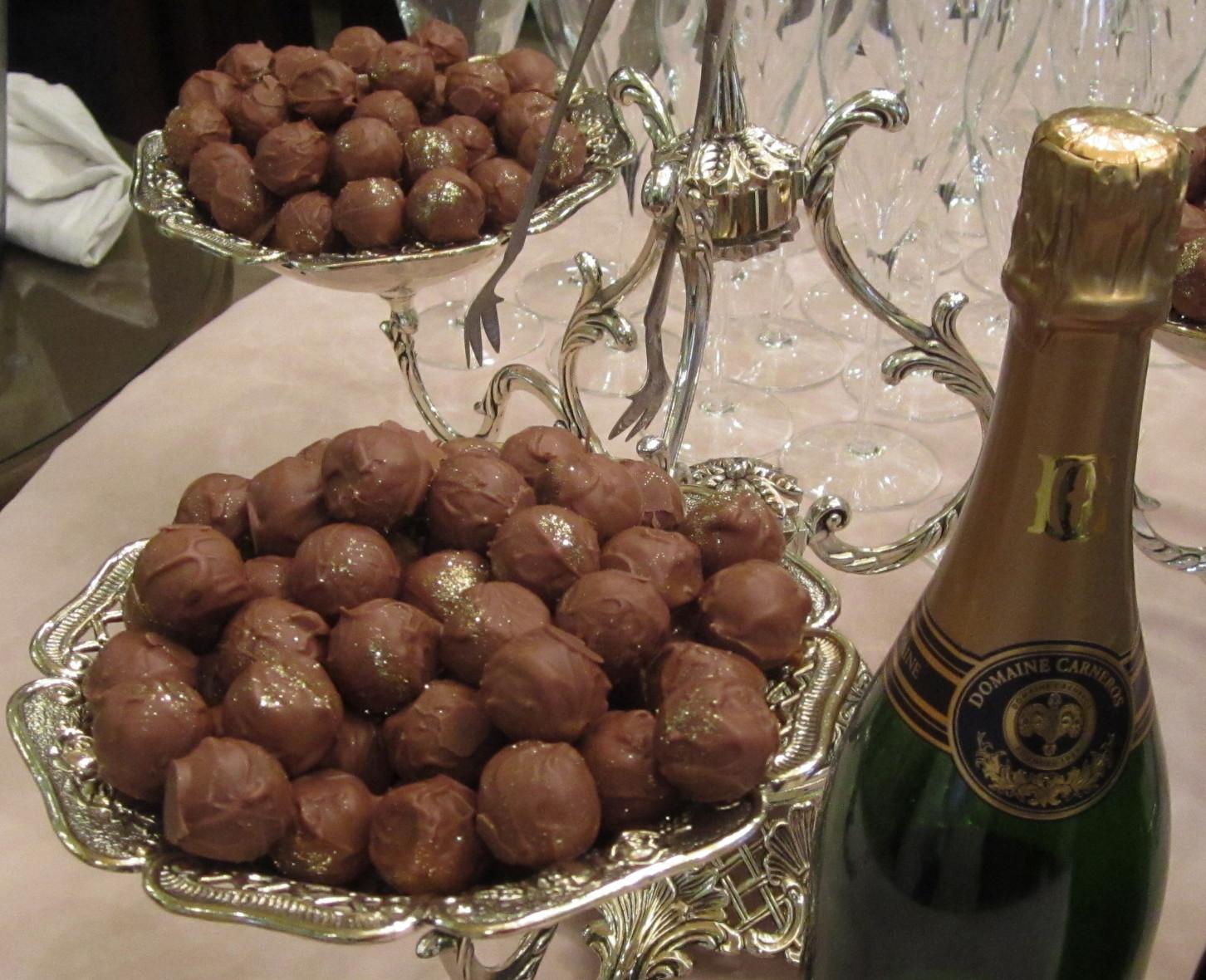 Elaine Travels: Decadent & Delicious Champagne Truffles