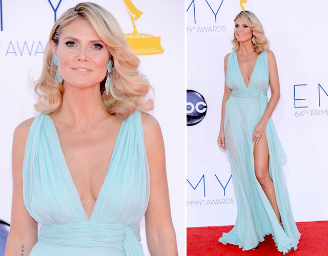 heidi klum, emmy awards 2012