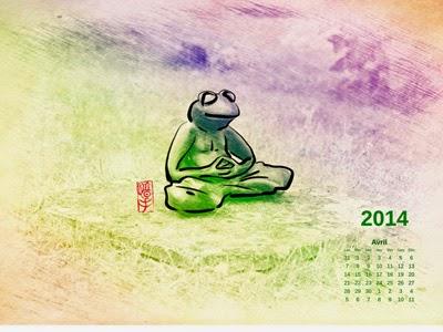 Fond d'écran zen Avril 2014 | Frédéric Baylot
