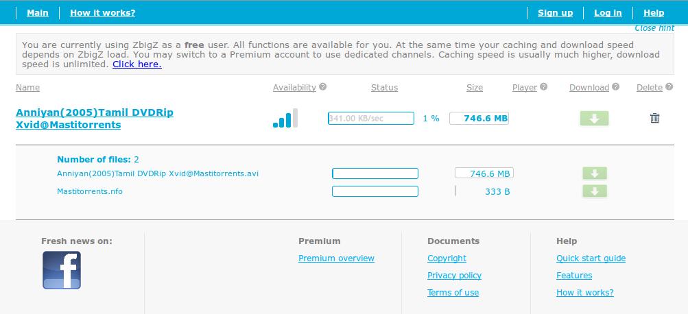 cara download file torrent dengan idm tanpa zbigz