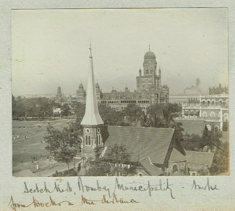 Scotch Kirk and Bombay Municipality c1909