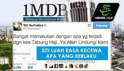 Isu Tabung Haji dan 1MDB sangat memalukan apa yang berlaku Siti Nurhaliza