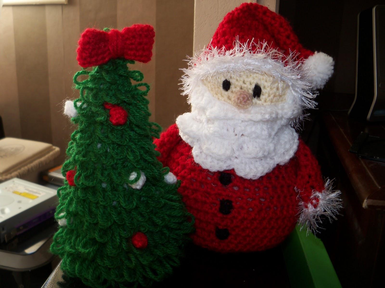 Au fil du crochet p re no l et sapin au crochet - Decoration de noel a decouper gratuit ...