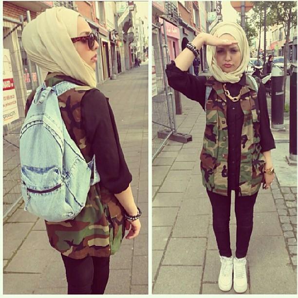 Qonittt 39 S Blog Trendy Hijab Fashion 2013
