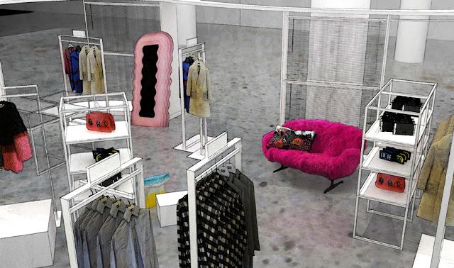 Space Store Rendering