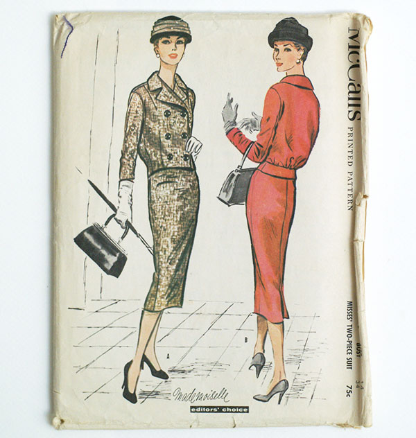 Serious Whims: Three Vintage Sewing Patterns