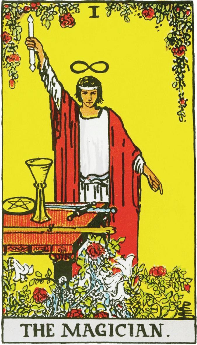 Arcano I, O Mago - Como ler tarot